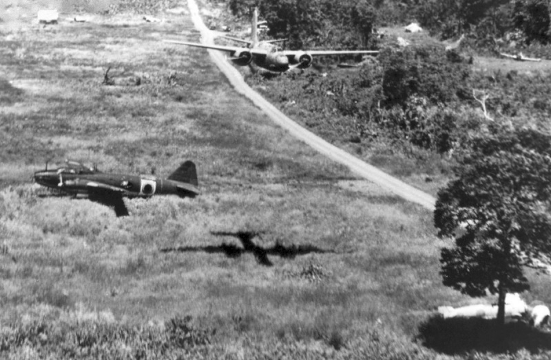 A-20s at Abadan, Iran, on the way to the USSR