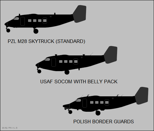M28 Skytruck variants