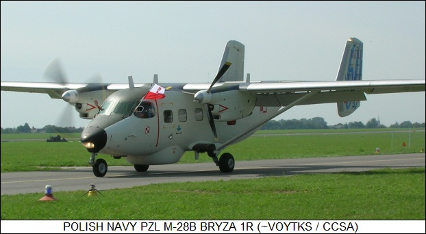 Polish Navy M28B Bryza