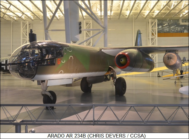 Arado Ar-234 at Smithsonian