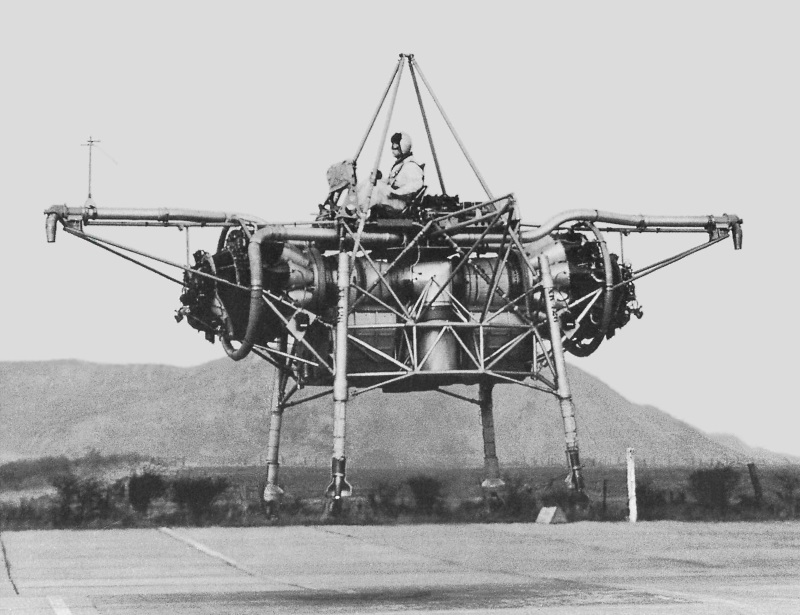 Rolls-Royce Thrust Measuring Rig