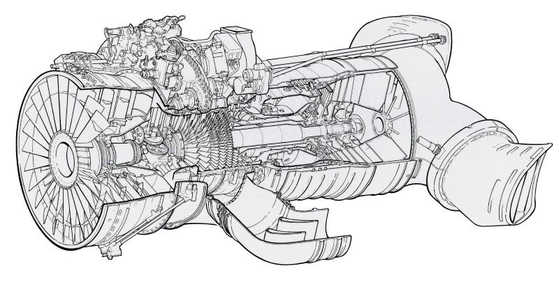 Pegasus turbofan
