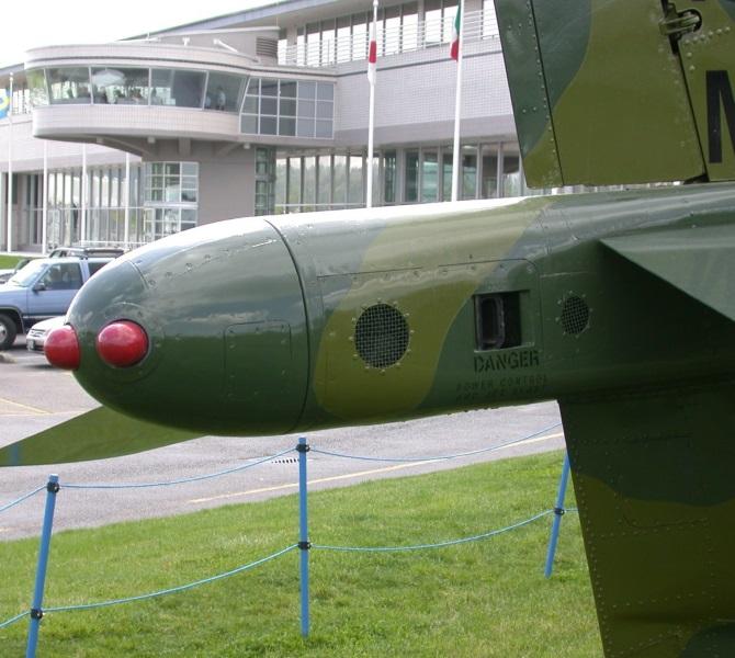 AV-8C tail puffer