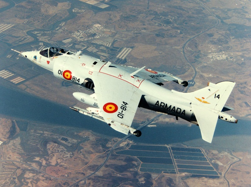 Spanish AV-8S Harrier