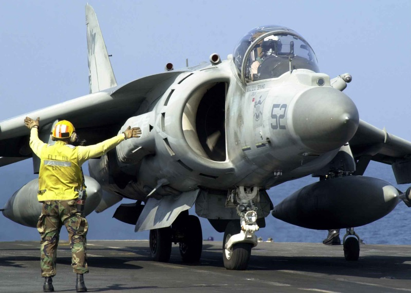 USMC AV-8B+ Harrier II