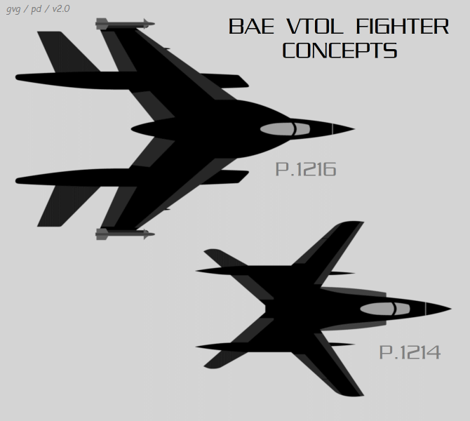 BAE advanced VTOL fighter concepts
