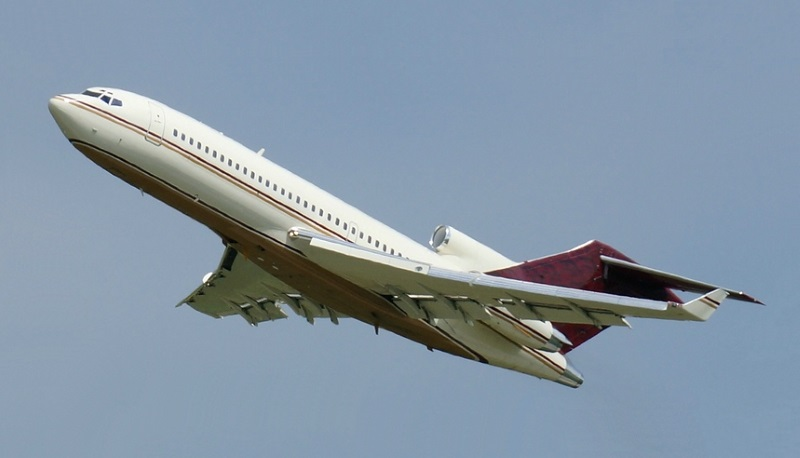 Boeing 727-100 with winglets