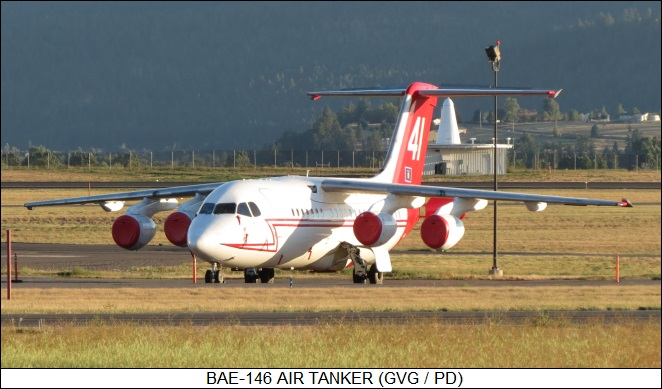 BAE 146 air tanker