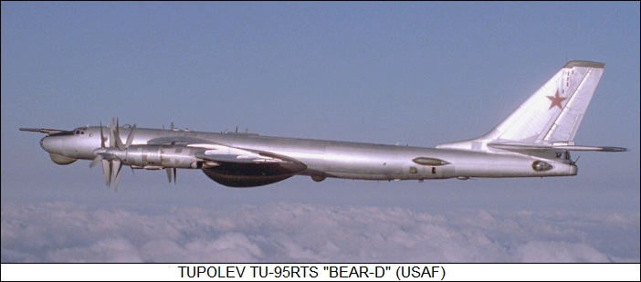 The Tupolev Tu 95142