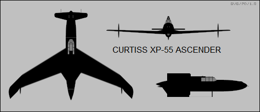 Curtiss XP-55 Ascender