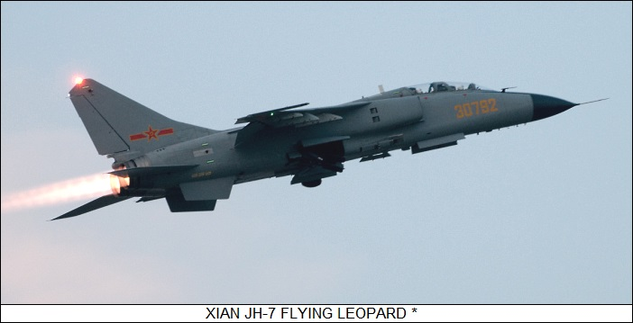 Chinese Jet Fighters: JH-7, J-10, & J-20
