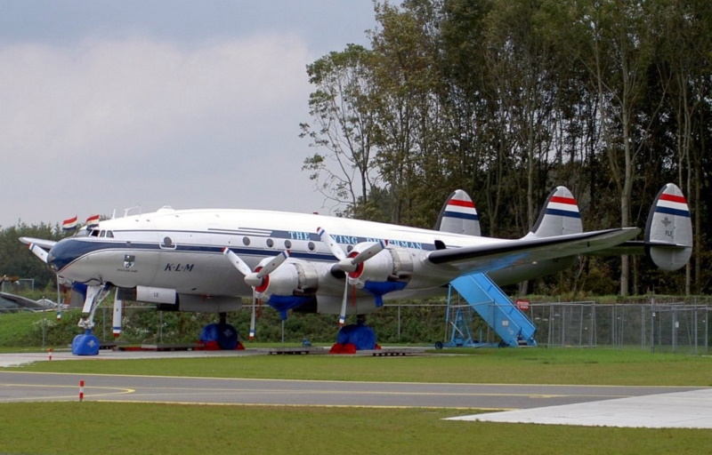 Lockheed L-1049F Super Constellation