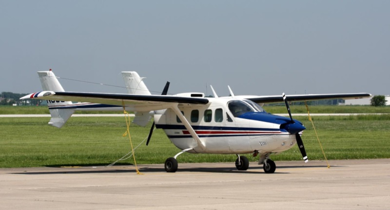 haitian air force cessna 310