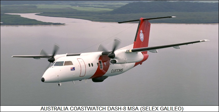 Australia Coastwatch DASH-8 MSA
