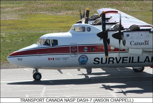 Transport Canada NASP DASH-7