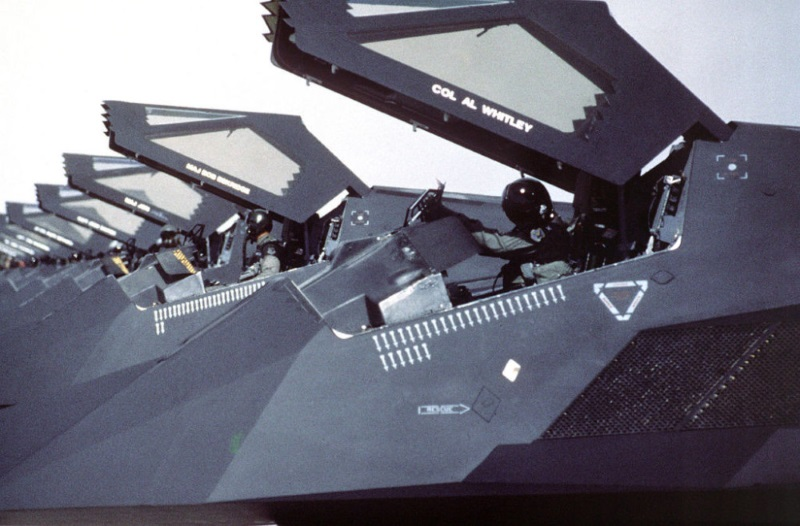 Lockheed F-117 Nighthawks