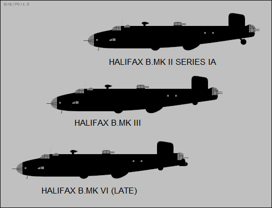 late Halifax bomber variants