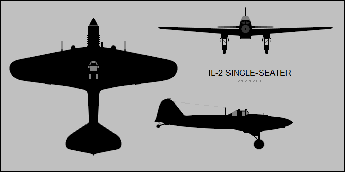 Ilyushin Il-2 single-seater