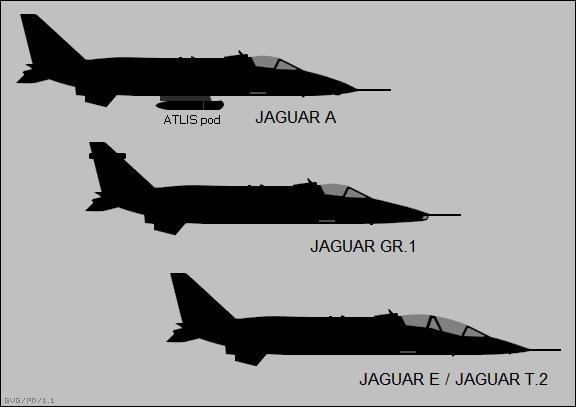 SEPECAT Jaguar variants