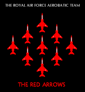 Red Arrows Jaguars