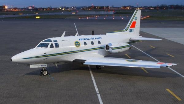 The Lockheed Jetstar Rockwell Sabreliner