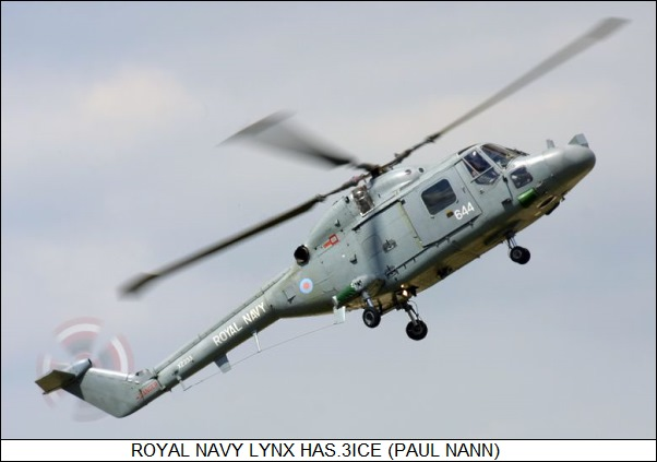 Royal Navy Lynx HAS.3ICE