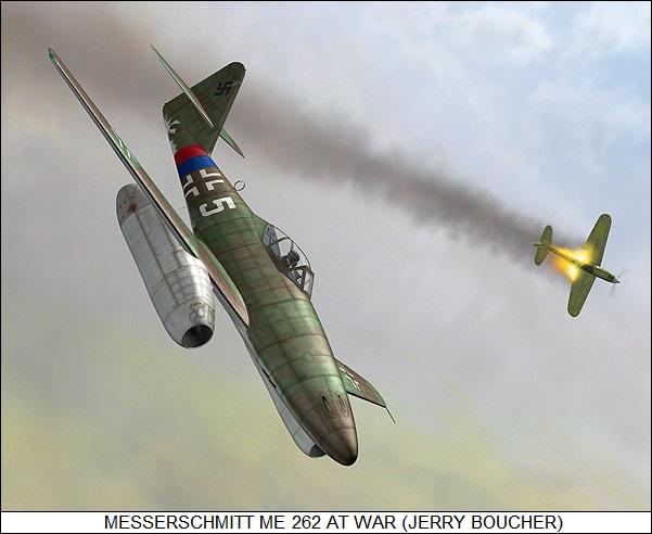 The Messerschmitt Me 262 Schwalbe / Sturmvogel