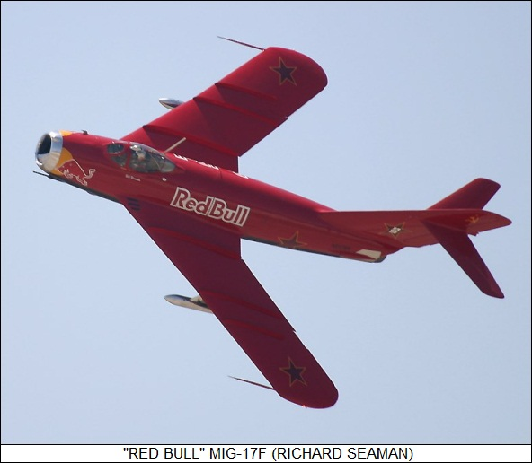 Red Bull MiG-17F