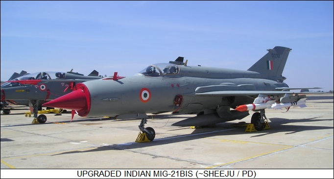 upgraded Indian MiG-21bis