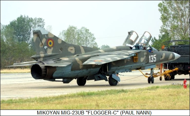 MiG-23/27 Flogger in Action Aircraft Number 101 Squadron/Signal #1101 (1990)