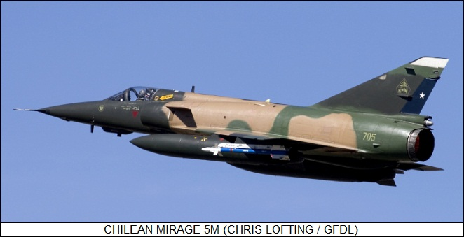 Chilean Mirage 5M