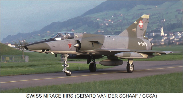 Swiss Mirage IIIRS