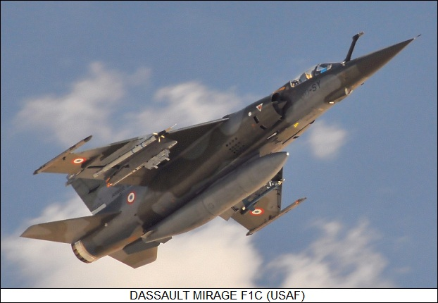 The Dassault Mirage F1