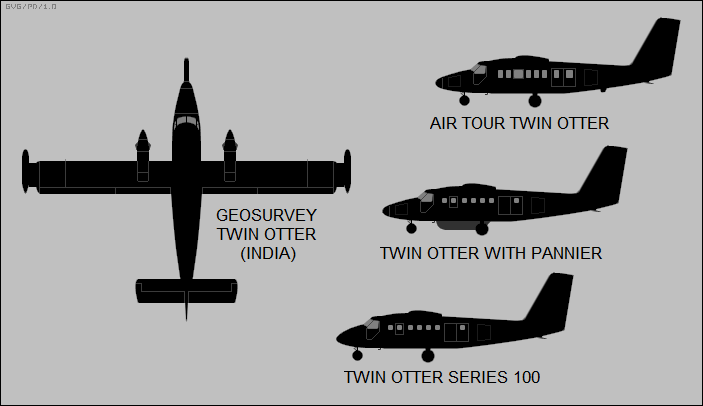 DHC-6 Twin Otter configurations