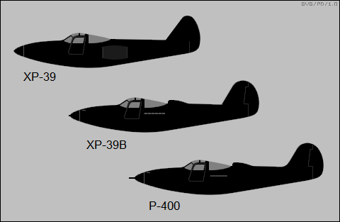 early P-39 variants