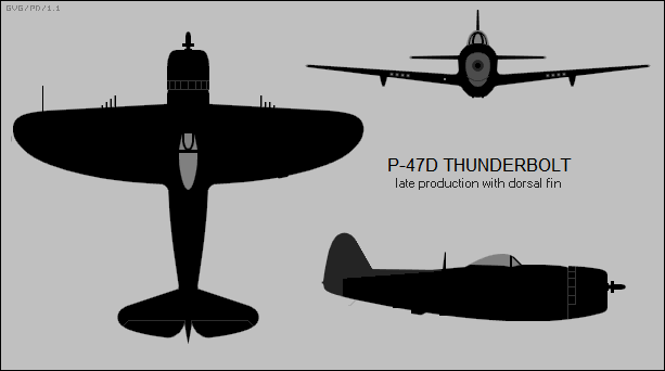 late production Republic P-47D