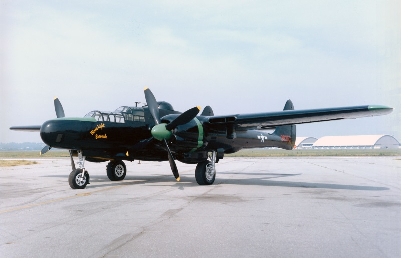 P-61 Black Widow in the Marianas