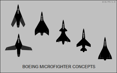 Boeing microfighter concepts