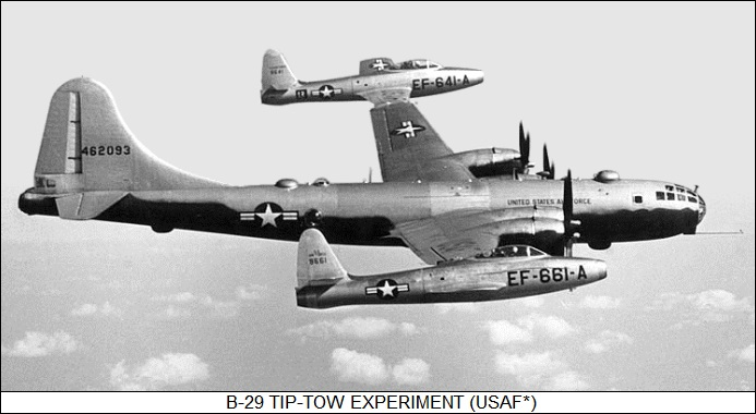 B-29 Tip-Tow experiment