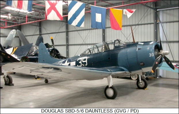 Douglas SBD-5/6 Dauntless