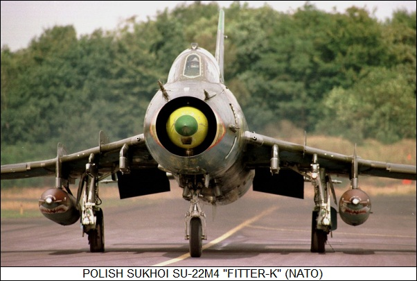 Polish Sukhoi Su-22M4 Fitter-K