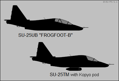 Sukhoi Su-25UB Frogfoot-B, Su-25TM
