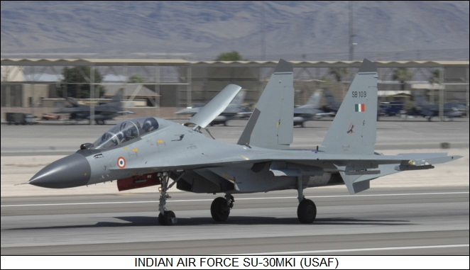 Indian Air Force Sukhoi Su-30MKI