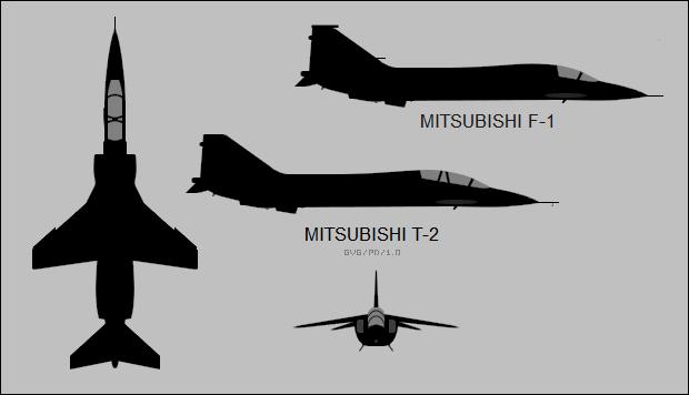 The Mitsubishi T 2 F 1 Kawasaki T 4