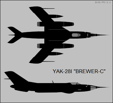 Yak-28I Brewer-C