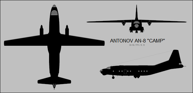 Antonov An-8 Camp