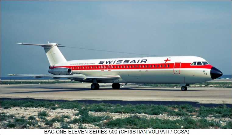 The BAC One Eleven Fokker Jetliners