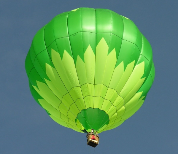 modern hot-air balloon