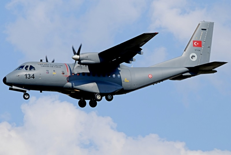 French CN-235 transports