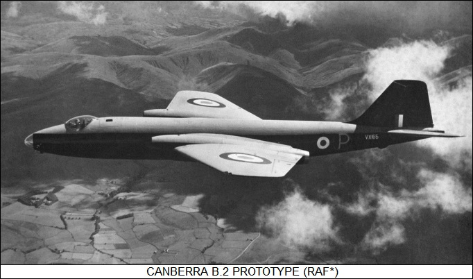 English Electric Canberra B.2 prototype